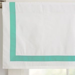 Pottery barn Teen Suite Ribbon valance 44x18 One